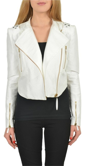 Preload https://item1.tradesy.com/images/just-cavalli-white-silk-beads-decorated-cropped-women-s-basic-size-4-s-3289930-0-0.jpg?width=400&height=650