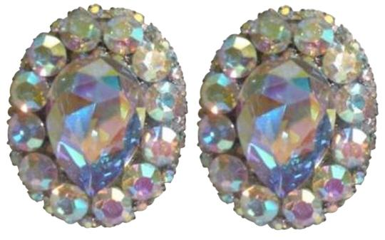 Preload https://img-static.tradesy.com/item/329016/iridescent-vintage-90-s-rhinestone-clip-on-earrings-0-0-540-540.jpg