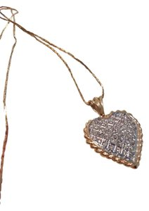 Napier beautiful heart necklace