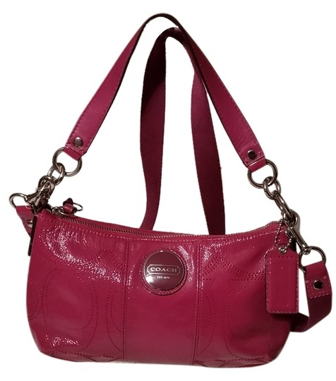 Preload https://item2.tradesy.com/images/coach-dark-pink-patent-leather-cross-body-bag-3290581-0-0.jpg?width=440&height=440