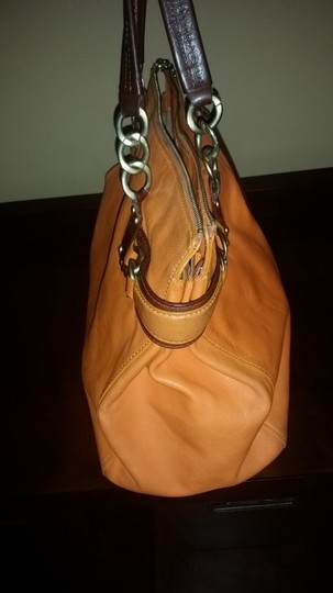 Juicy Couture Satchel in Orange/Brown
