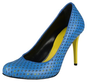 Just Cavalli Blue Pumps
