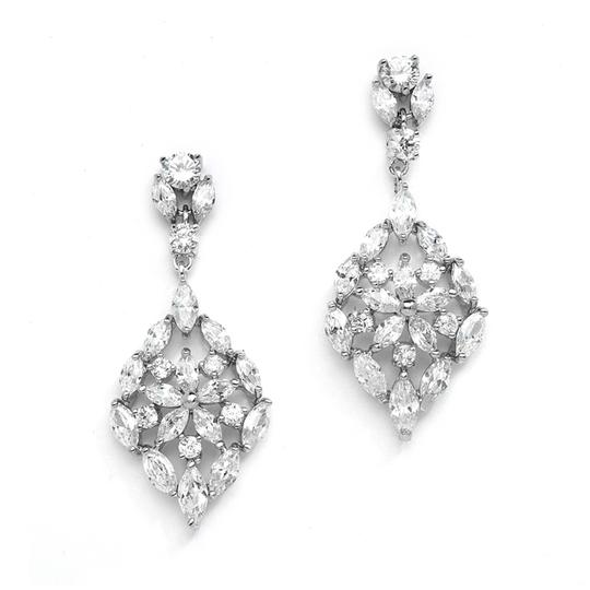 Preload https://item2.tradesy.com/images/mariell-silver-glamorous-cubic-zirconia-with-marquis-mosaic-4235e-earrings-3291676-0-0.jpg?width=440&height=440
