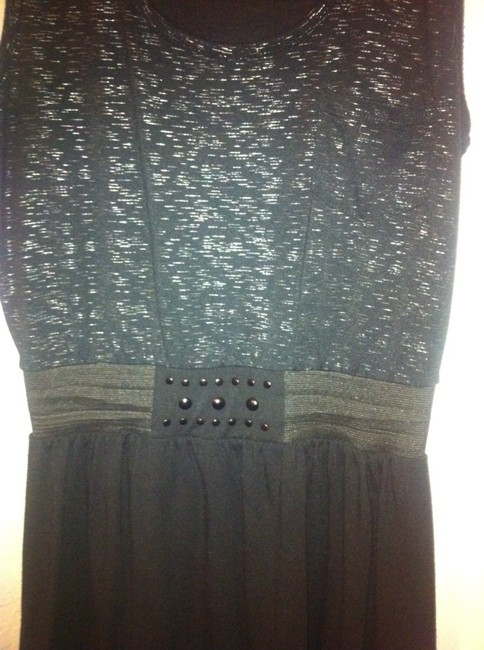 Xhilaration short dress Charcoal/Black on Tradesy