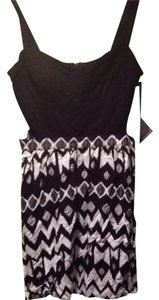 PacSun short dress Black And White on Tradesy