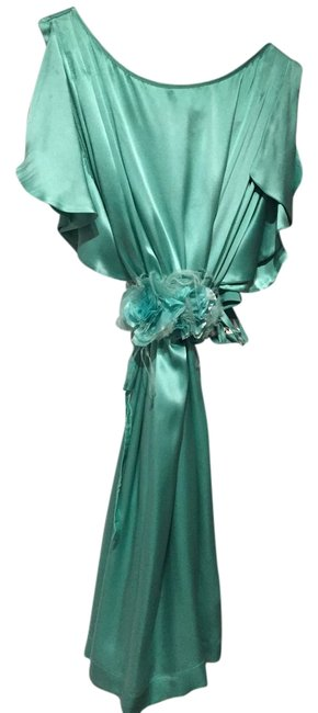 Preload https://item4.tradesy.com/images/turquoise-italian-silk-cocktail-wedding-guest-above-knee-formal-dress-size-2-xs-3291988-0-0.jpg?width=400&height=650