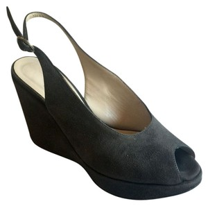 Robert Clergerie Paris Dark Gray Platforms