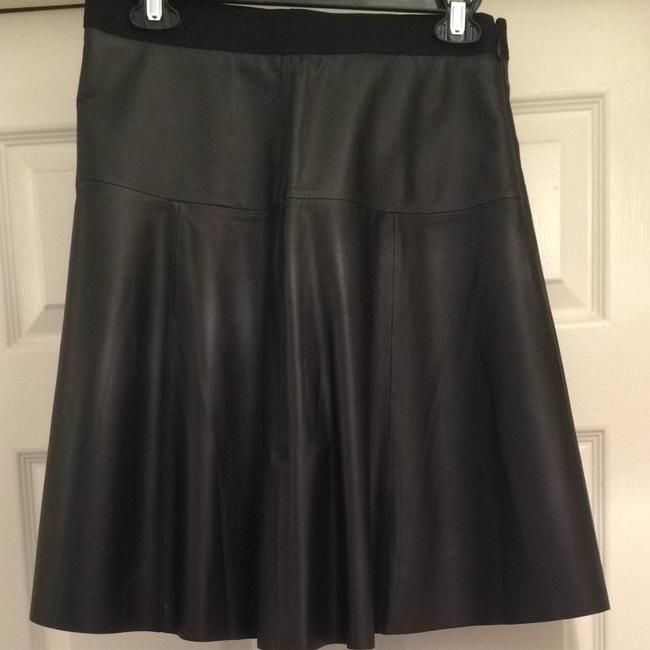 Vince Leather Professional Lamb Agneau Unlined Soft Lightweight Sexy Dressy Fashion Style Designer Quality Size4 4 Vince Skirt Black