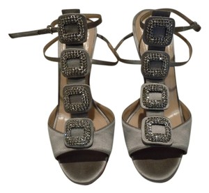 Manolo Blahnik Gray Sandals