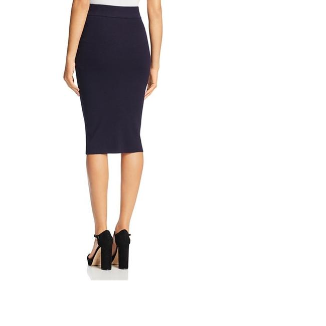 DKNY Patchwork Skirt Navy Blue Image 1
