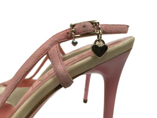 Escada Ivory & Pink Pumps