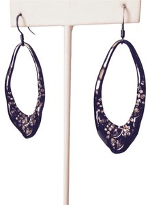 Alexis Bittar Miss Havisham Hematite Crystal Encrusted Teardrop Earrings
