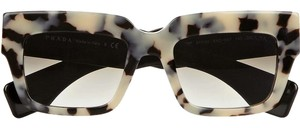 Prada POEME Square Havana Sunglasses