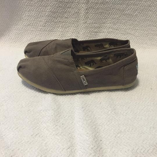 TOMS Dark Grey Flats