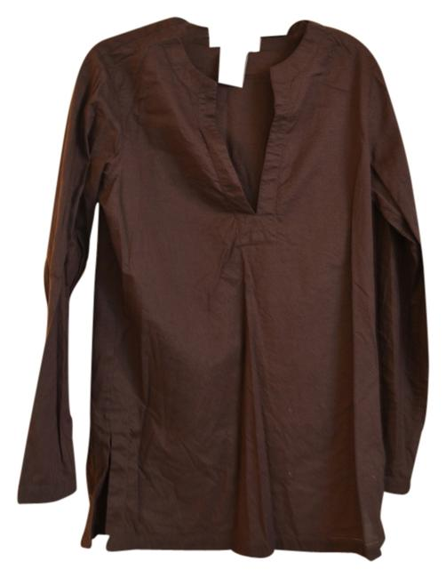 Preload https://item4.tradesy.com/images/michael-kors-brown-tunic-size-4-s-3293518-0-0.jpg?width=400&height=650
