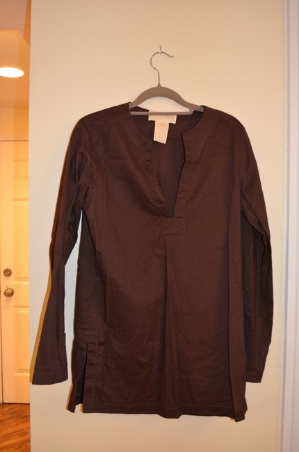 3685623a3f ... Michael Kors Hemstitch Cover Up Beach Beach Cover Up Tunic