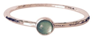 Ippolita Rock Candy Mint Sterling Silver Hammered Design Bangle