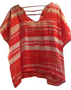 Collective Concepts Striped Top Orange