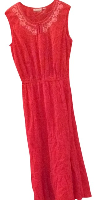 Preload https://img-static.tradesy.com/item/3294046/denim-and-co-red-long-casual-maxi-dress-size-6-s-0-0-650-650.jpg