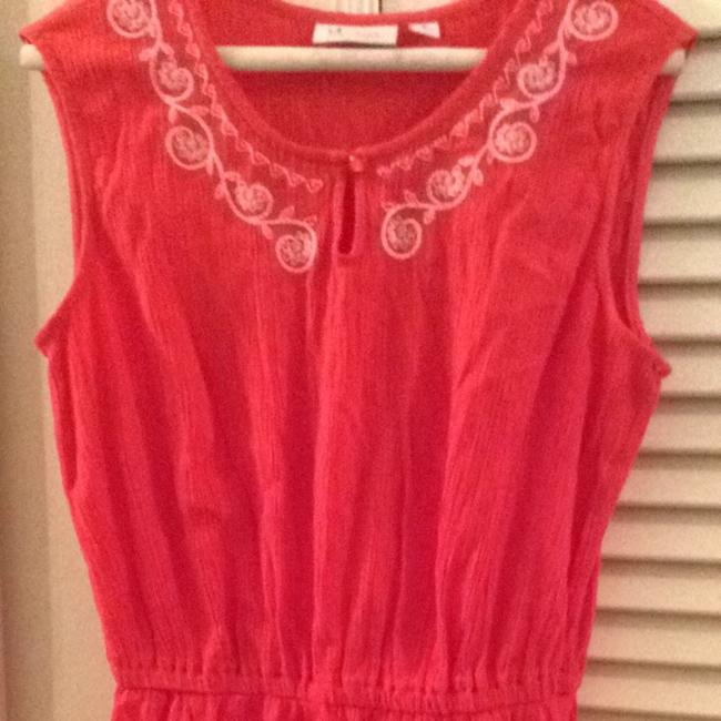 red Maxi Dress by Denim & Co.