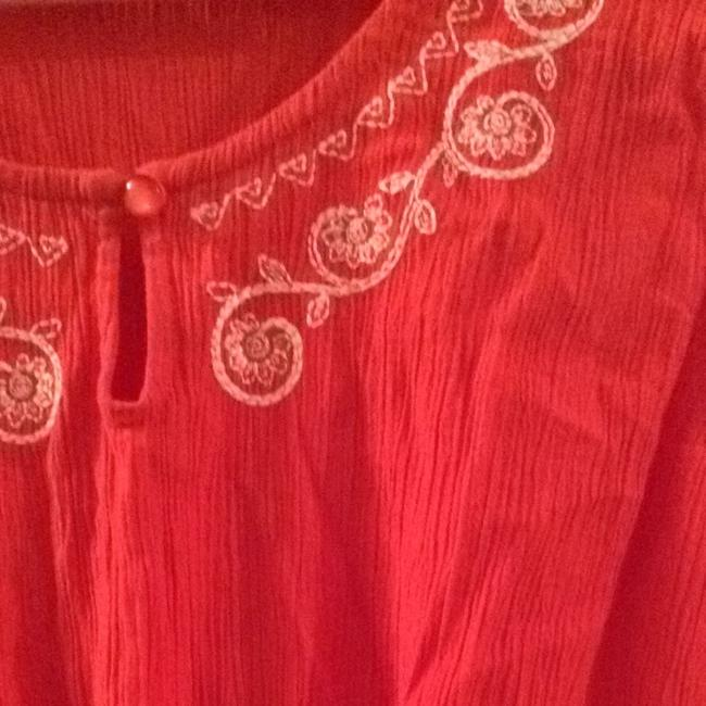 red Maxi Dress by Denim & Co. Image 4
