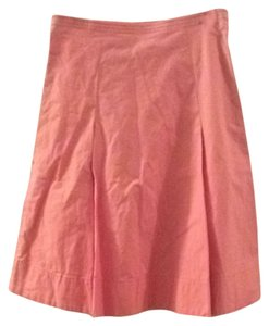 Anthropologie Skirt salmon