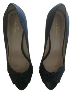 Kate Spade Black Glitter Formal