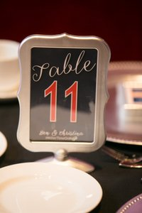 Michaels Silver For Table Numbers Tableware