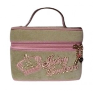 Juicy Couture light green and pink Travel Bag