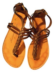 American Eagle Outfitters Leather brown Sandals