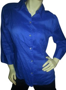 Appraisal Button Down Shirt Blue