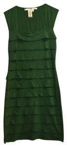 Max Studio short dress Green Figure Fitting Unique Knee Length Comfortable Sexy Cute Sale on Tradesy