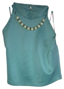 Blush Top Teal