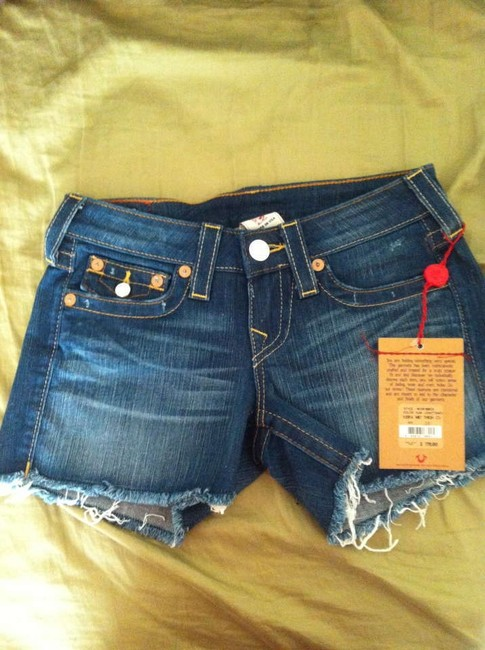 True Religion New With Tags Tags Size 26 Size 2 Denim Jean Cut Off Shorts