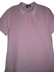 Ralph Lauren Monogram Polo T Shirt Pink