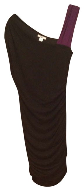 Preload https://img-static.tradesy.com/item/329702/bar-iii-black-with-purple-above-knee-night-out-dress-size-10-m-0-0-650-650.jpg