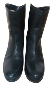 Ballin Super Soft Leather / Wedge Blue/Green Boots