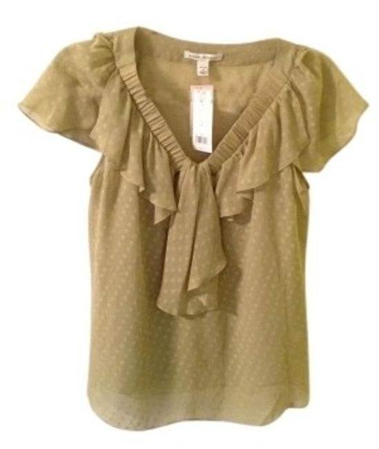 Preload https://item4.tradesy.com/images/banana-republic-green-flutter-sleeve-ruffled-night-out-top-size-petite-4-s-32973-0-0.jpg?width=400&height=650