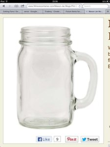 Mason Jar Mugs Tableware