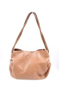 Desmo Purse Light Tan Satchel in Brown