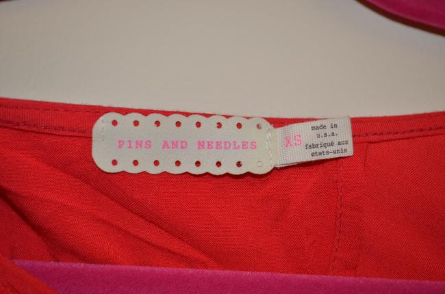 Pins and Needles Slit Top Red