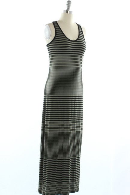 Olive Maxi Dress by Vince Camuto Maxi Stripe Striped