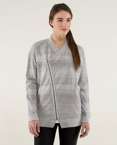 Lululemon Lululemon Heather Grey Mula Bundle Wrap Jacket
