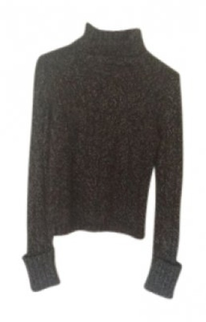 Preload https://img-static.tradesy.com/item/32991/express-black-with-flecks-of-white-turtleneck-sweaterpullover-size-4-s-0-0-650-650.jpg