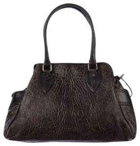 Fendi Du Jour Handbag Media Crisp Tote Satchel in Brown