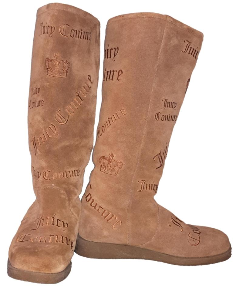 MISS Couture Juicy Couture MISS Tan/Brown Boots/Booties Primary quality eebe91