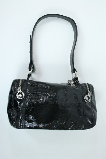 Marc Jacobs Crushed Patent Leather Baguette