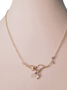 Jamison Songbird, Briolettes, Pearl & White Sapphire Necklace