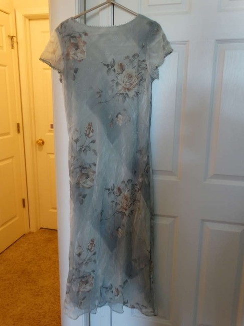 Casual Corner Vintage Floral Roses Size 14 Dress