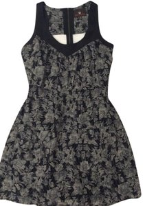 Heartloom short dress Black Silk Racer-back Cut-out on Tradesy